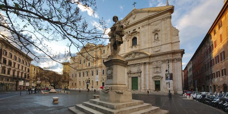 Piazza Della Chiesa Nuova Roma Zonzofox