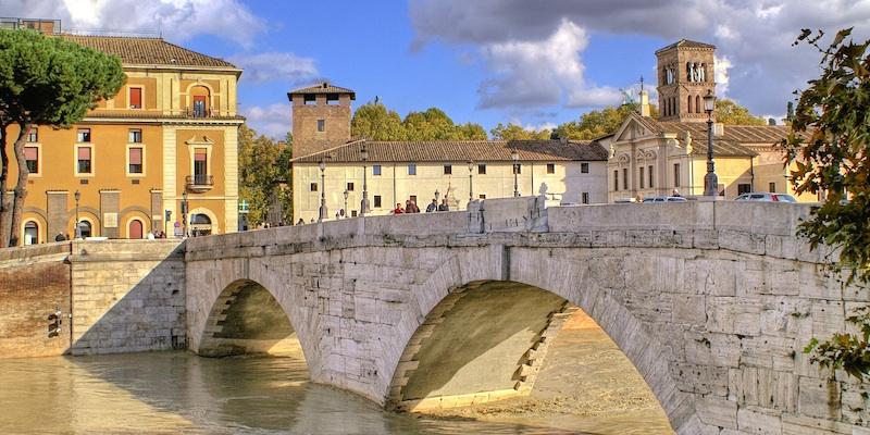 Ponte cestio roma zonzofox for Foto di ponti coperti
