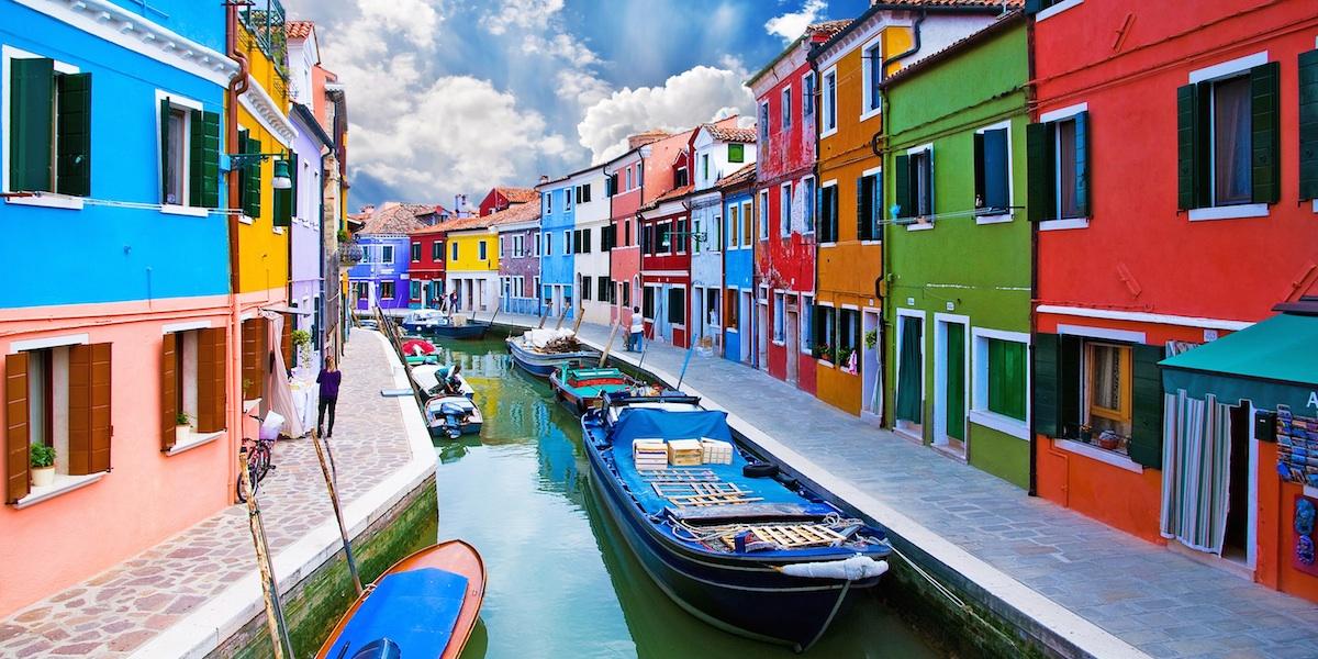 Houseboat Rentals Venice | Murano Burano Torcello Islands Tour