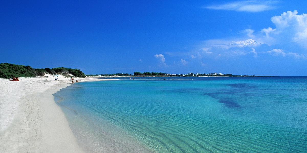 Пляжи саленто в июне