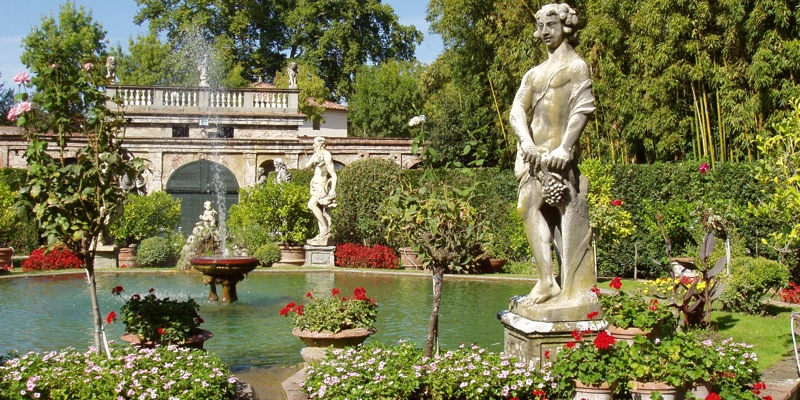 Garden and Pfanner Palace