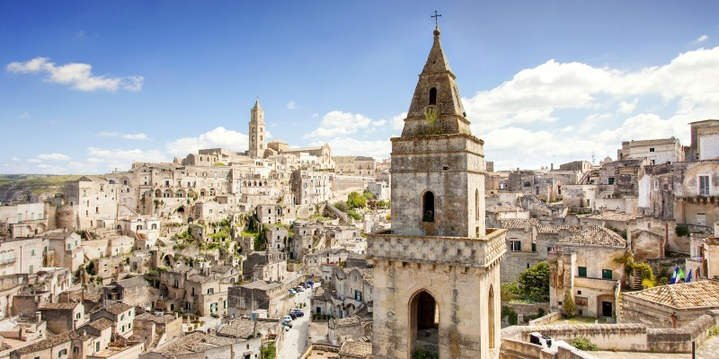 Attractions in Matera