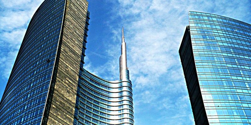 Skyscrapers in Milan