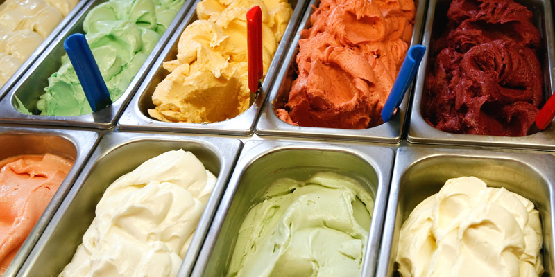 The best ice-cream shops in Parma