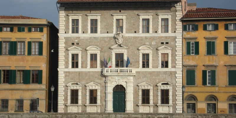 Palazzo Lanfreducci (alla Giornata) - Rettorato - Pisa ...