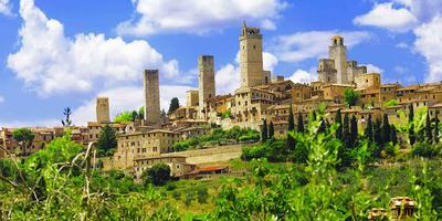 Full-Day San Gimignano, Siena & Chianti Tour from Pisa