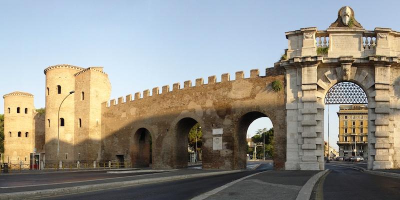 Rome's ancient gates