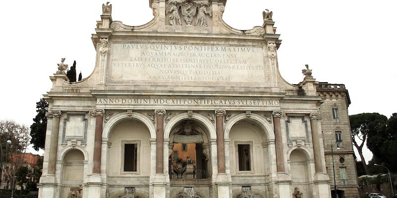 Fontana d'Acqua Paola (Fontanone del Gianicolo)