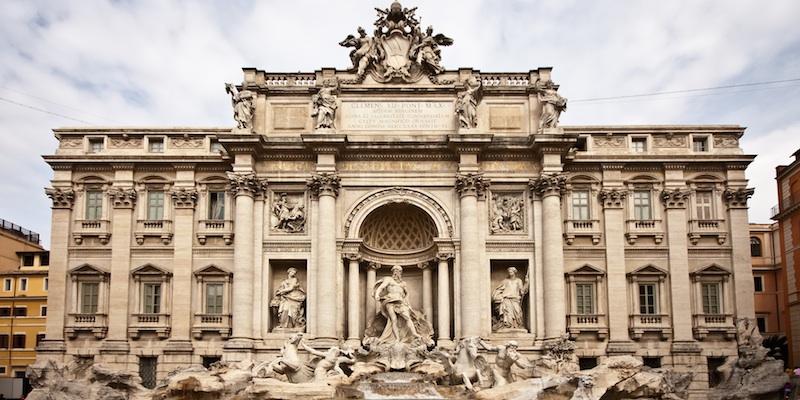 Palazzo Poli - Fontana di Trevi