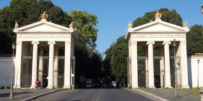 Parco dei Daini in Villa Borghese