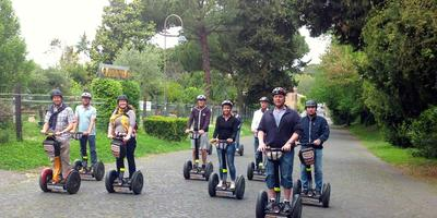 Segway Tour of Rome's Appian Way on a Sunday