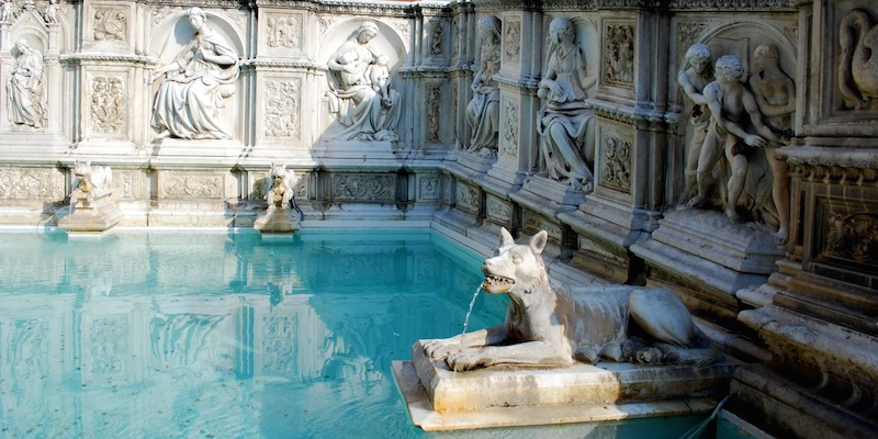 Water Sources in Siena