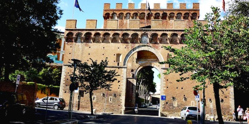 Siena Walls Gate
